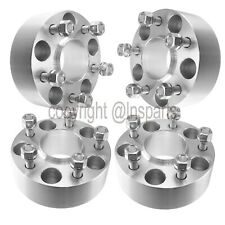 "(4) 2"" 5x4.5 WHEEL SPACERS HUBCENTRIC fits 2015 + Ford Mustang Hub Centric GT"