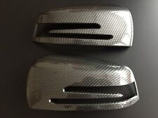 CARBON WING MIRROR COVERS MERCEDES BENZ A B C E S CLS Class W218 CLS W204 C204