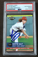 Dustin May Signed 2017 Midwest All Star Card Dodgers Auto Autographed + PSA COA