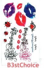 Small Fresh Cupid Lips Fahion Temporary Tattoo Stickers Body Art
