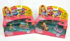 Lot of (2) Nickelodeon Sunny Days Die-Cast Cars 2-Packs 3-6 Style Speeder Doodle