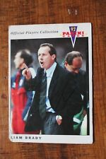 More details for liam brady (celtic & west ham brighton arsenal fc) hand signed panini 92' card