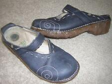 El Naturalista Iggdrasil N096 Mary Jane Mule Clog Shoes Blue Women's Sz US 5-5.5