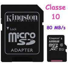 Kingston 64gb Canvas Select microSDHC (microsd) Adapter SD Sdcs-64gb