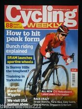 CYCLING WEEKLY - BUNCH RIDING EXPLAINED - MARCH 11 2010