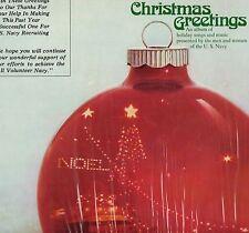 "DANNY THOMAS ""CHRISTMAS GREETINGS"" LP 1965 navy recruiter"