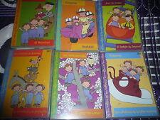 COLECCION DE 6 DVD INFANTILES + KARAOKE LAS TRES MELLIZAS (NUEVOS )