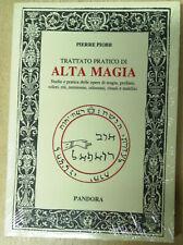 Trattato pratico di Alta Magia Studio e pratica delle.. Libro Nuovo Sigillato N