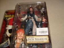 NECA Pirates Caribbean Jack & Capt. Teague Series 2 NEW MOC FIGURE Lot