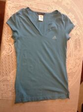 Adidias Blue Stretch Aerobics Top Size 12. Excellent Condition.