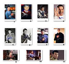 Leonard Nimoy alias Mr. Spock aus Star Trek Enterprise - Autogrammfoto [Auswahl]