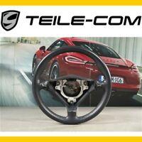 -50% ORIG. Porsche 911 996 Sportlenkrad 3 Speichen Tiptronic Leder metropolblau