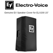 """ELX 200 15"""" Padded Speaker Slip Cover Genuine EV Electro-Voice Cover"""