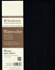 Strathmore 400 Series Softcover Watercolor Art Journal 48 Pages 7.75 X 9.75
