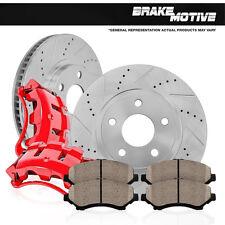 Front Brake Calipers and Rotors Pads ACURA RSX TYPE S HONDA CIVIC SEDAN Si 2.0L
