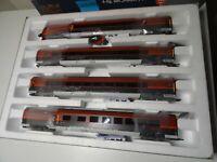 Roco  HO Art 64189 Railjet Wagenset Wien-Venezia 4-teilig, DC  Neuware /OVP