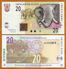 South Africa, 20 rand, ND (2005), P-129, UNC > Elephant