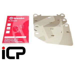 Brembo Front Anti Squeal Stainless Steel Shims For Subaru STi Brembo Calipers