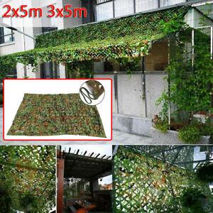 Filet de Camouflage Forêt Jungle Camo Net Camping Chasse Cacher Armée Militaire