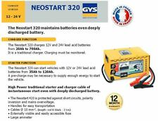 GYS NEOSTART 320 12 - 24 Volt Profi Batterie Anlasser + Ladegerät 270 Amp