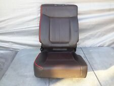 2011-2014 Ford F150 F-150 Rear Right Seat Leather Black OEM