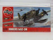 Airfix JUNKERS Ju52-3M 1/72 Scale Plastic Model Kit UNBUILT