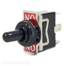 Tastschalter spritzwassergeschützt ON/OFF/ON 12V 24V Schalter KFZ Kipptaster
