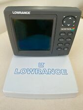 Lowrance fish finder X510C with Colour display. Wiring harness and transducer.