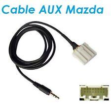 Cable auxiliaire adaptateur iphone autoradio Mazda 6 jusqu'a 2006 aux samsung