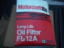 GENUINE  Motorcraft FL12A Engine Oil Filter