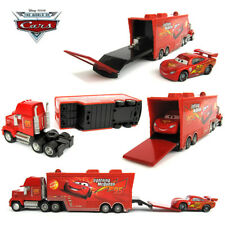 Pixar Cars 2 NO.95 Mack Truck & Lightning McQueen Diecast 1:55 Toys 2PCS
