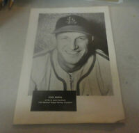 1950 St.Louis Cardinals Stan 'The Man' Musial National League Batting Champ