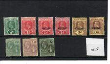 Virgin Is.  (05) - George V - 1913 onward - selection  - mint - SG Cat £16
