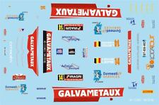 DECALS 1/43 CITROËN C4 WRC - #14 - BOUCHE - RALLYE DE WALLONIE 2014 - D43377