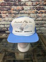 Alumet Mfg Inc Industrial Manufacturer Snapback Hat Cap Netting Adjustable