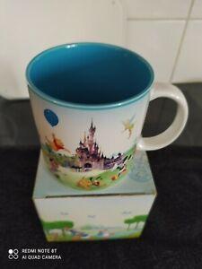 BOXED Disneyland Paris Magic Kingdom Castle & Disney Characters Mug