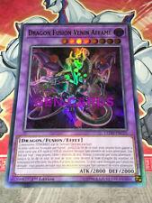 Carte Yu Gi Oh DRAGON FUSION VENIN AFFAME LEDD-FRC25