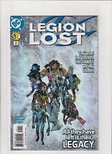 Legion Lost #1 NM- 9.2 DC Comics 2000 Legion of Super-Heroes