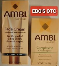 AMBI Skincare Fade Cream for Normal skin 2oz Combo Set
