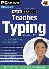Mavis Beacon Teaches Typing Version 12 (PC-CD) BRAND NEW SEALED