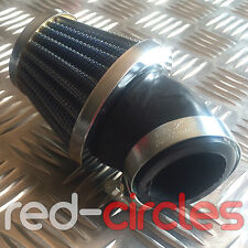 ANGLED 45mm PIT DIRT BIKE K&N STYLE AIR FILTER 140cc 150cc 160cc PITBIKE