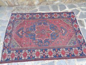 tappeto  persiano annodato a mano epoca 800