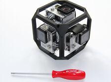 360° Spherical Panorama Mount / Halterung für 6x GoPro Go Pro HERO 3-4