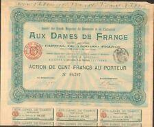 AUX DAMES DE FRANCE (BORDEAUX 33) (W)