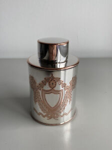 Antique 19th Century Victorian Silver Plated Tea Caddy