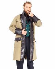 Men's Chrononaut Cream Coat Steampunk, finest fabric, handmade one by one nice!!