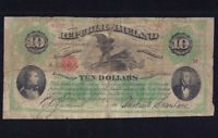 IRELAND REPUBLIC 10 DOLLARS  1866 - 1867  P-S102