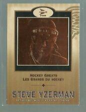 2001-02 McDonald's Pacific Hockey Greats #5 Steve Yzerman (ref 81453)