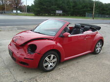2006 Volkswagen Beetle-New Convertible GLS Leather Salvage Rebuildable