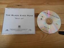 CD Pop Black Eyed Peas - Shut Up (2 Song) Promo A&M POLYDOR sc
